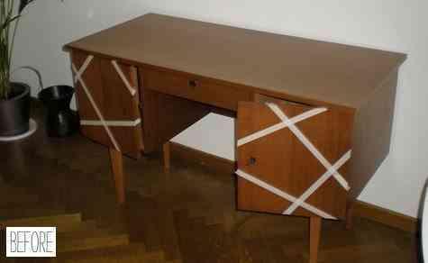 mueble escritorio en su estado anterior a la reforma