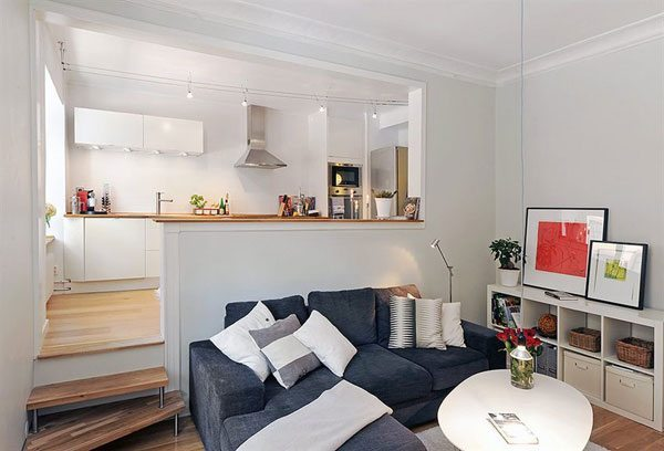30 apartamentos peque os con mucho ingenio for Estudiar decoracion de interiores