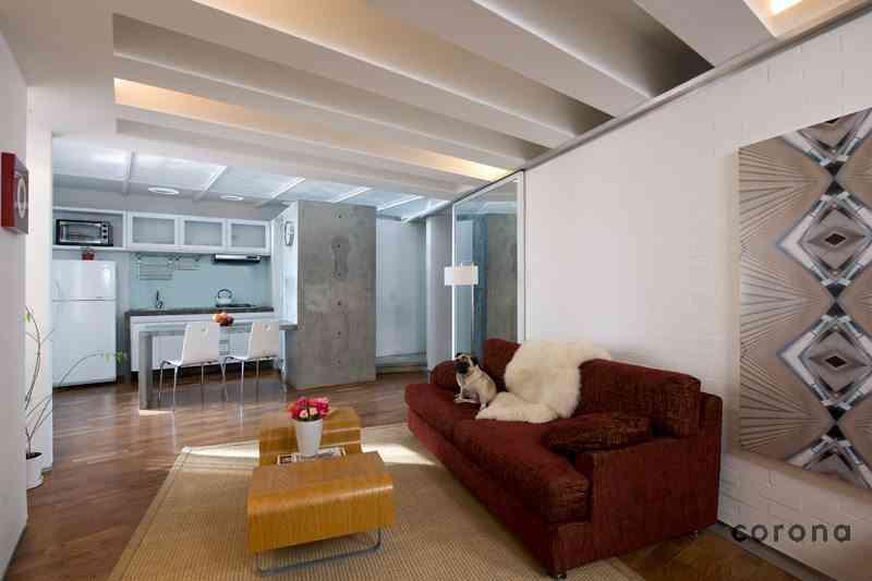 30 apartamentos peque os con mucho ingenio Living modernos pequenos