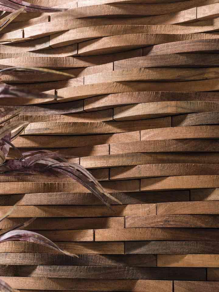 Revestimientos de madera para las paredes de l antic colonial - Paredes en madera ...