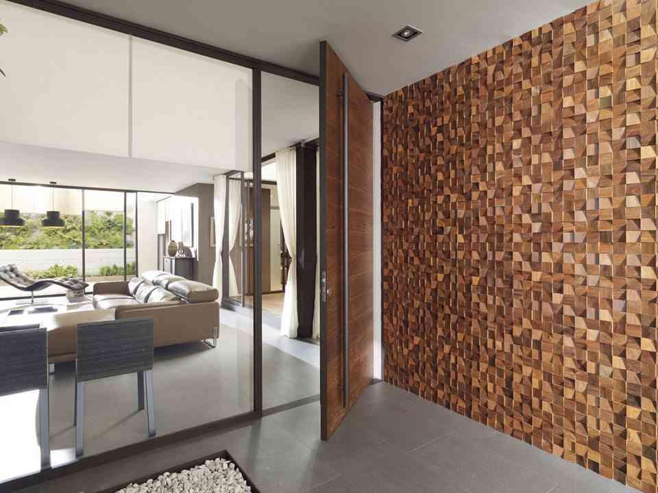 Revestimientos de madera para las paredes de l antic colonial - Revestimiento de paredes interiores en madera ...