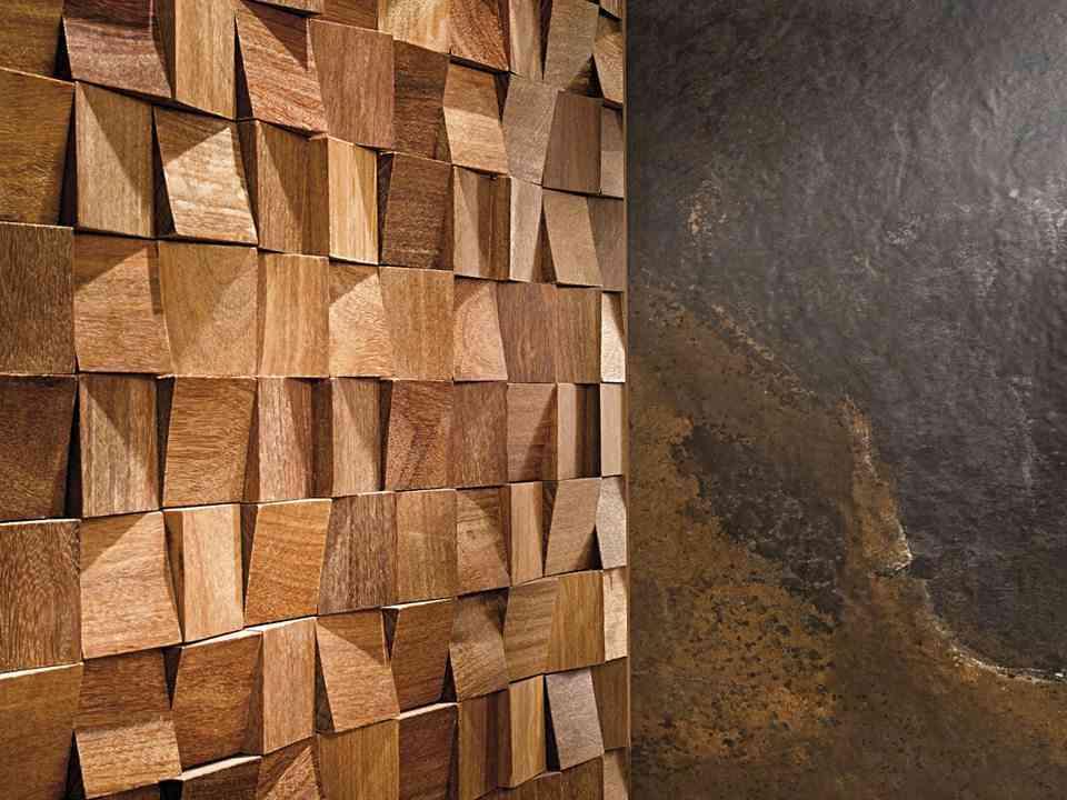 Revestimientos de madera para las paredes de l antic colonial - Revestir pared exterior ...