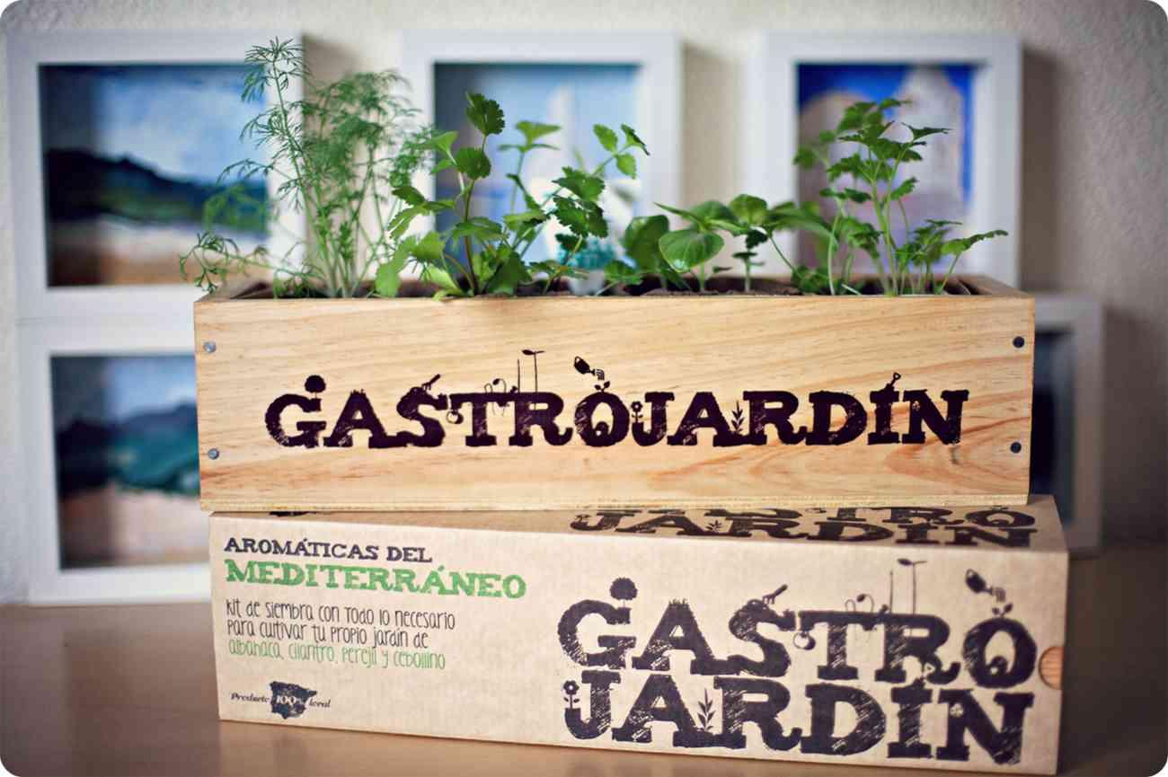 C mo crear un huerto en casa con hierbas arom ticas - Pequeno huerto en casa ...