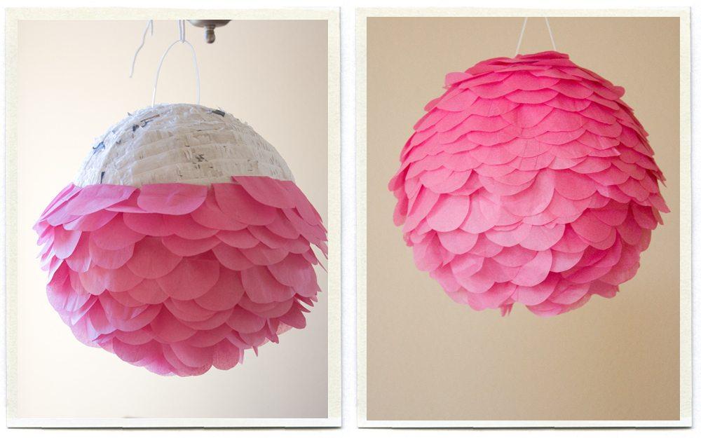 Lámpara que da un toque de color a tu habitación