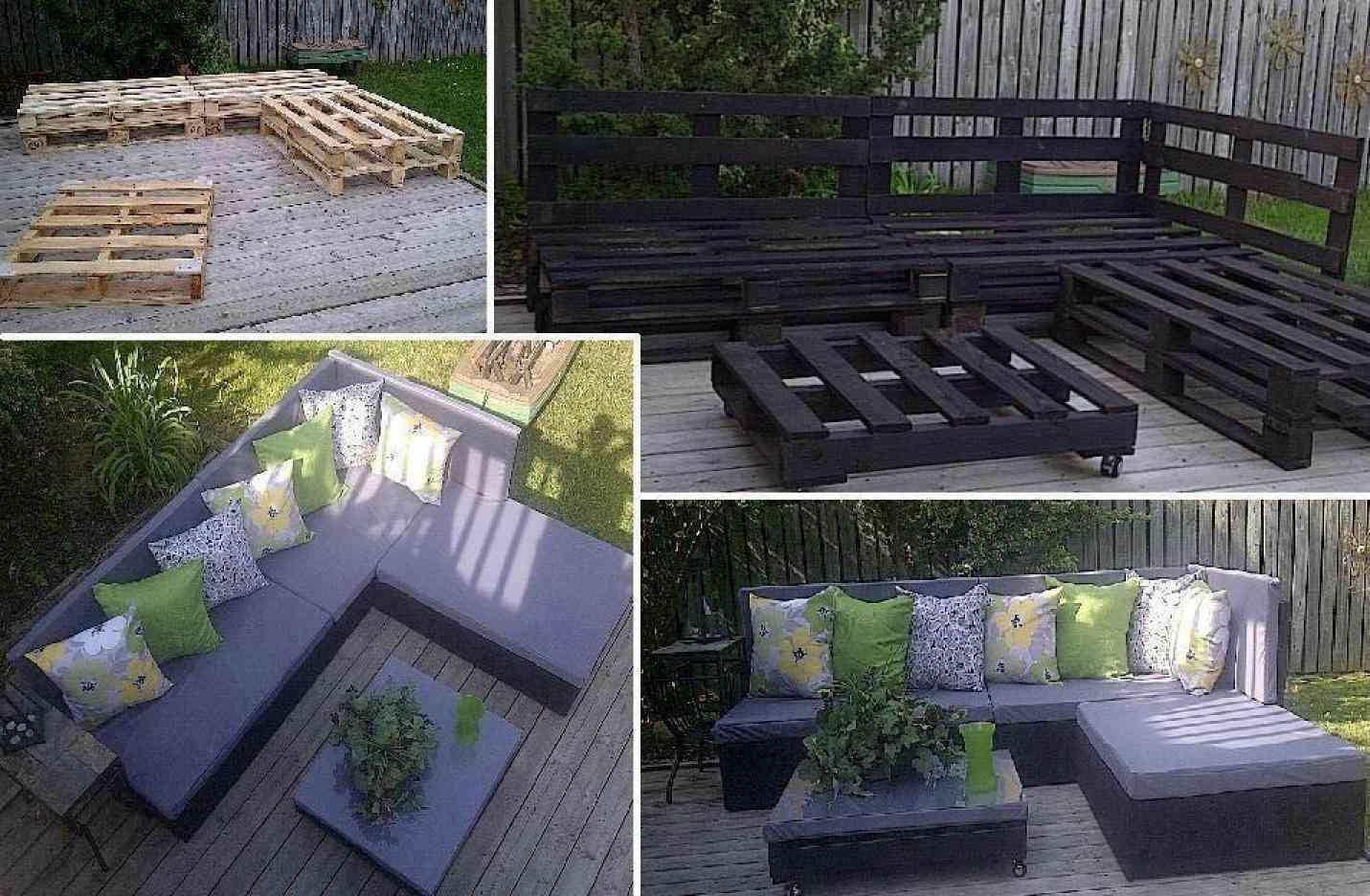 10 muebles para exteriores diy hazlos tu mismo for Sillon con palets reciclados