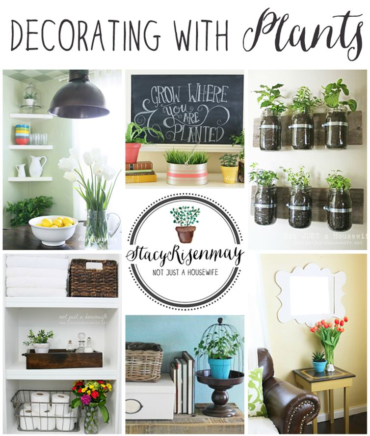 decoración de interiores - decorar con plantas