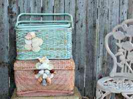 cestas de colores