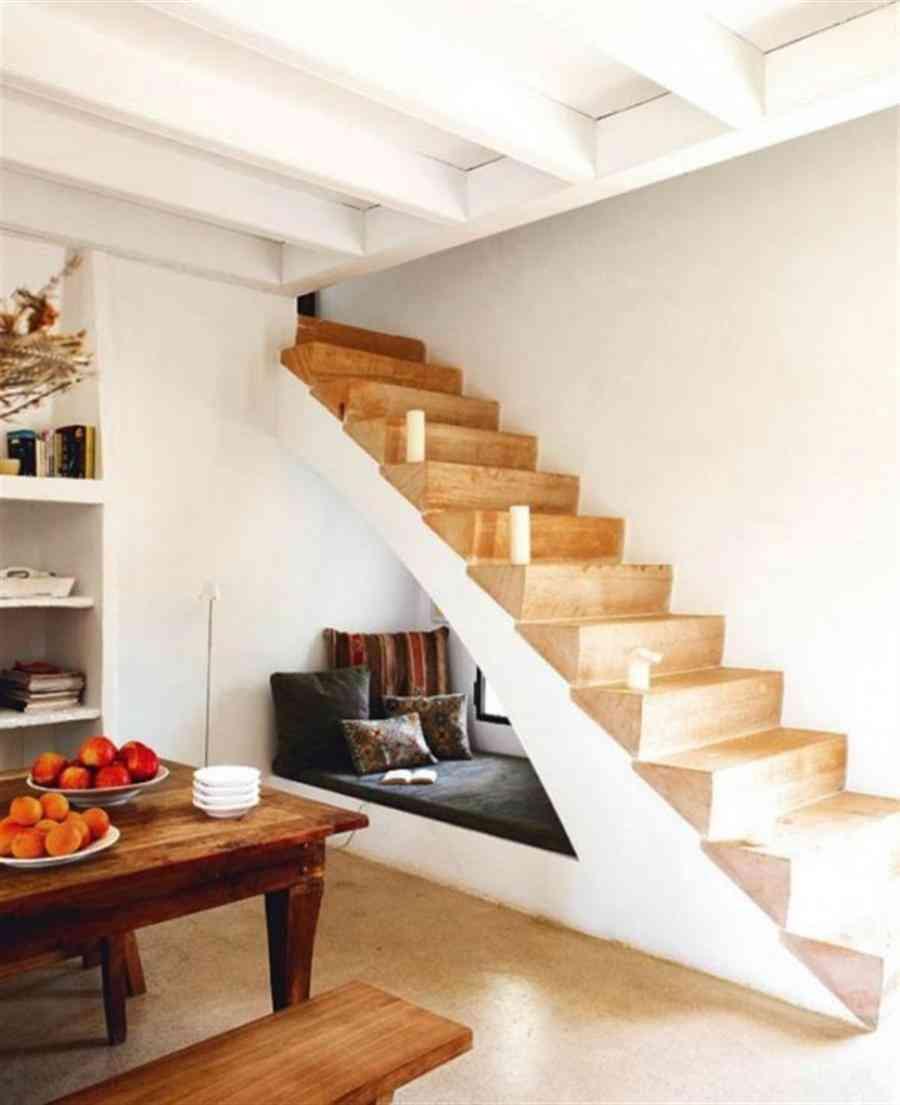 Aprovechando los espacios debajo de las escaleras