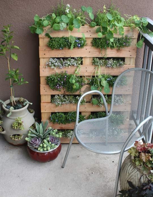 jardines verticales caseros - jardin vertical
