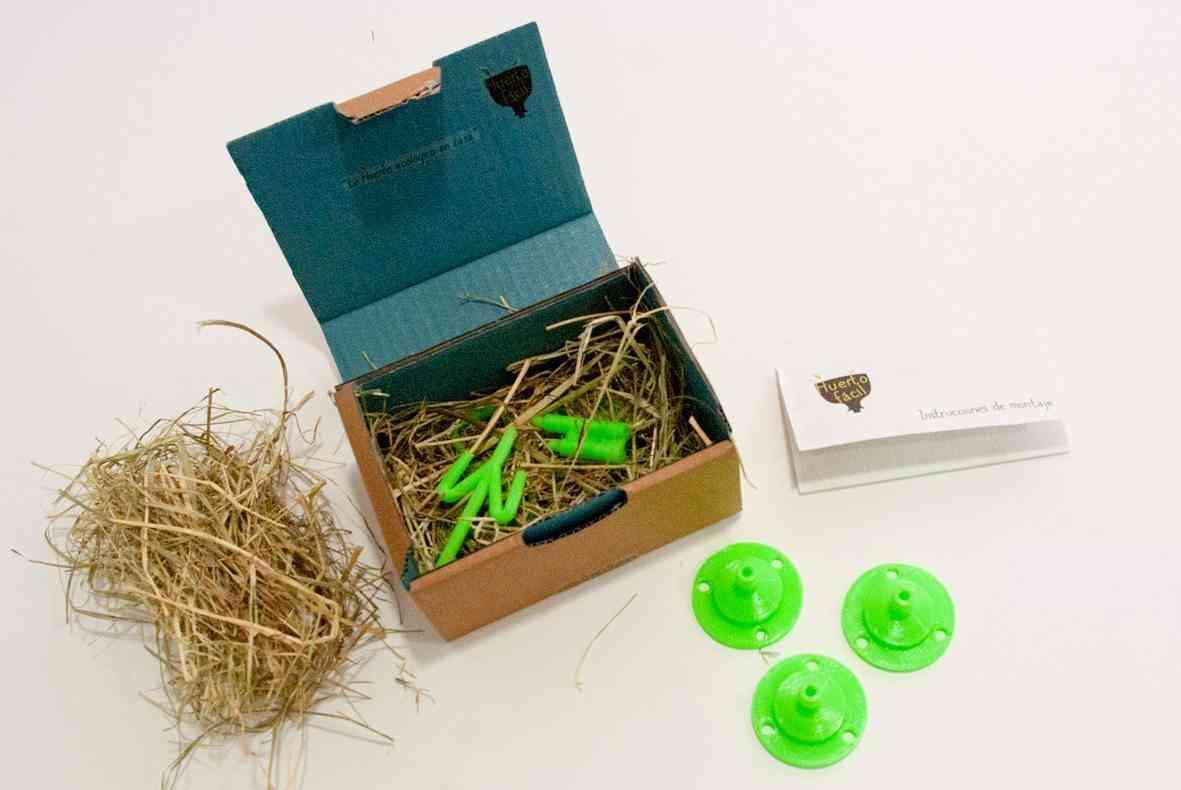 kit de jardinera en 3D