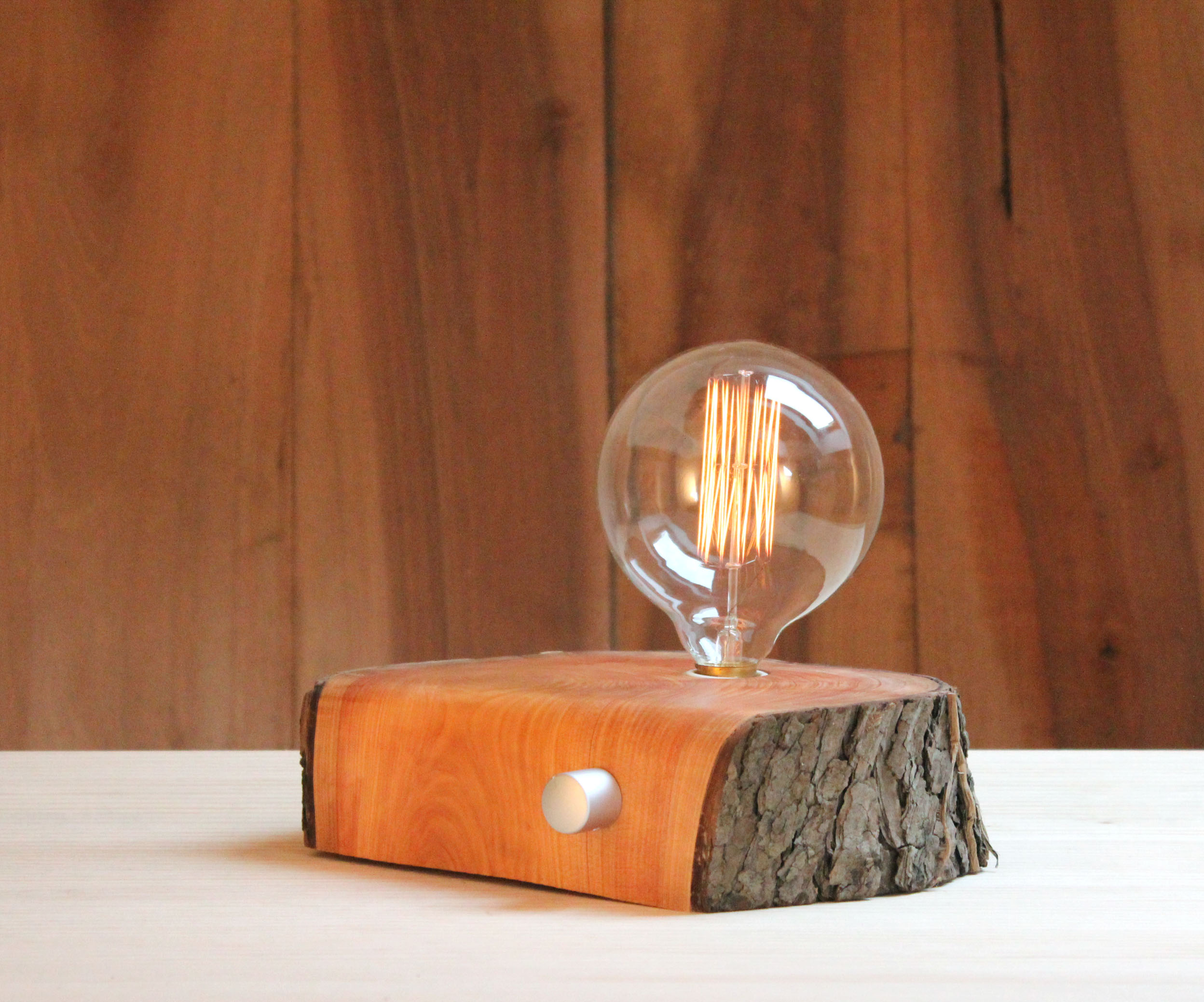 lampara de madera reciclada BRZwooDesign 12