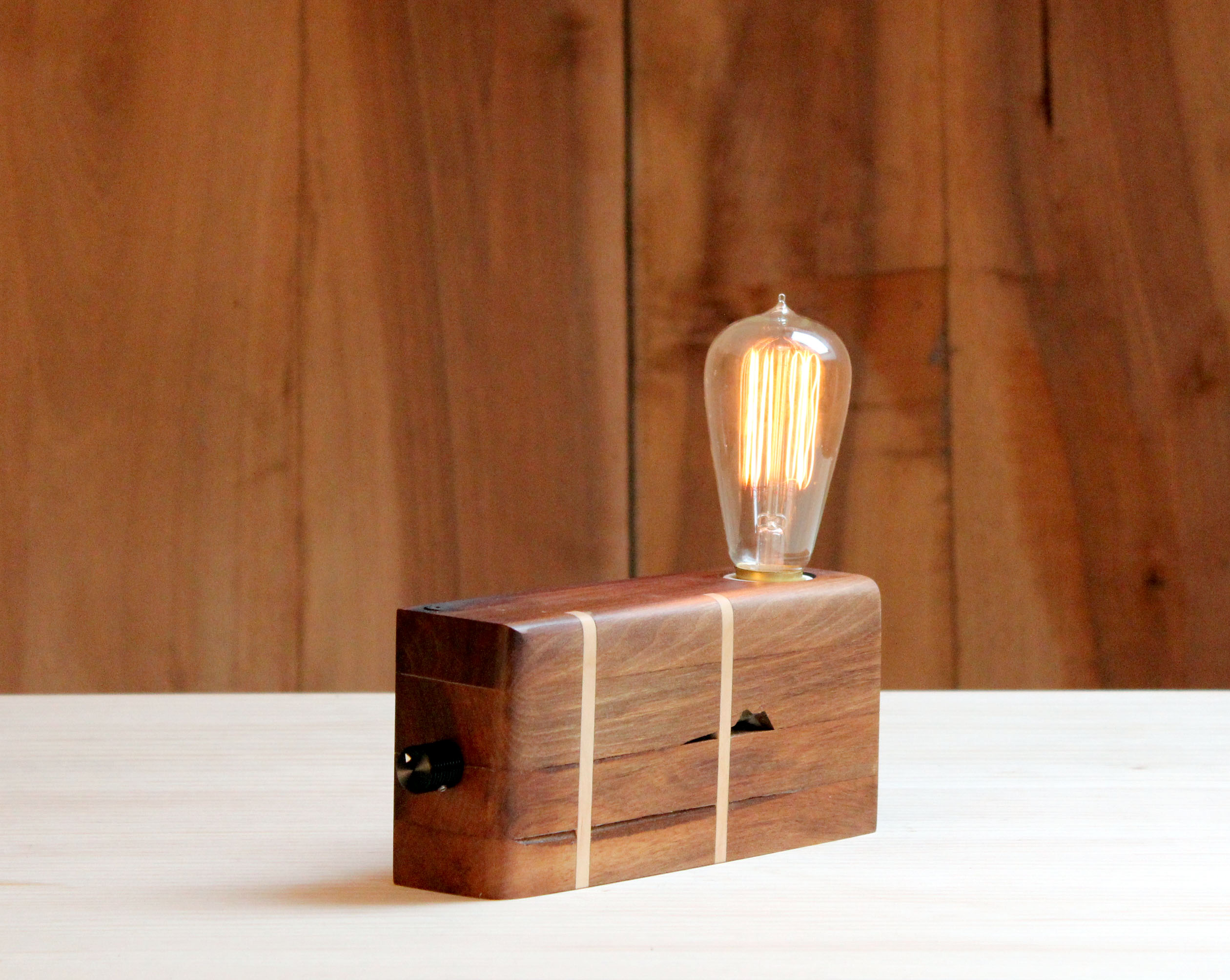 lampara de madera reciclada BRZwooDesign 20