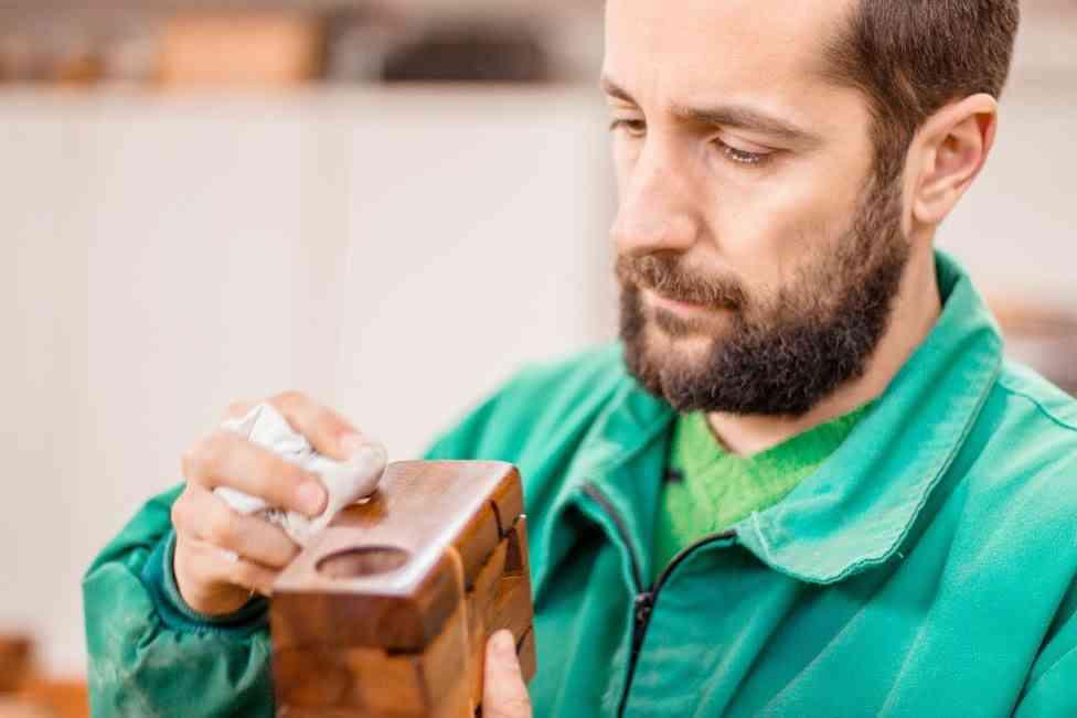 Lamparas de madera deciclada - BRZwooDesign (Victor García) taller 2