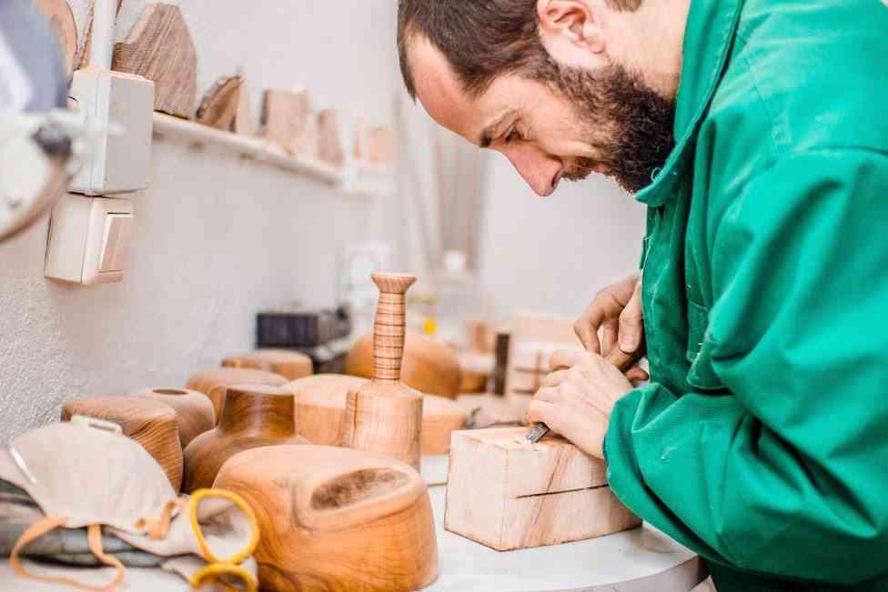 Lamparas de madera deciclada - BRZwooDesign (Victor García) taller 3