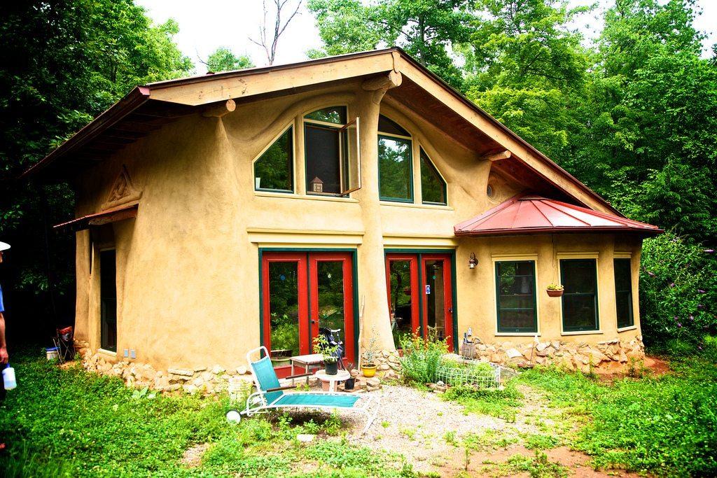 casa hecha de Cob