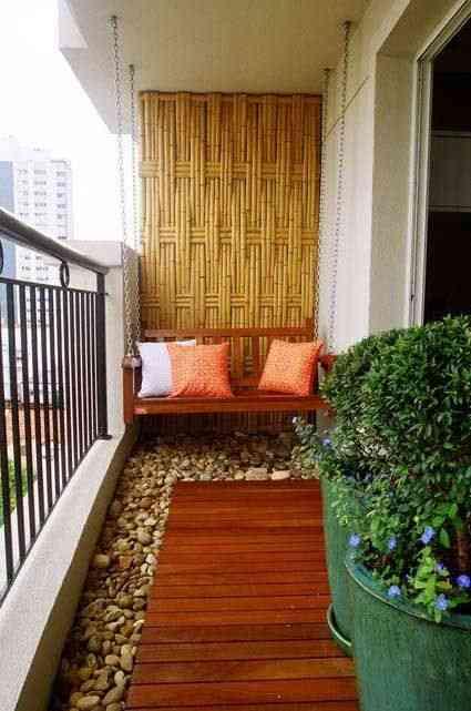 Decoraci n de terrazas peque as y acogedoras for Decoracion de terrazas pequenas