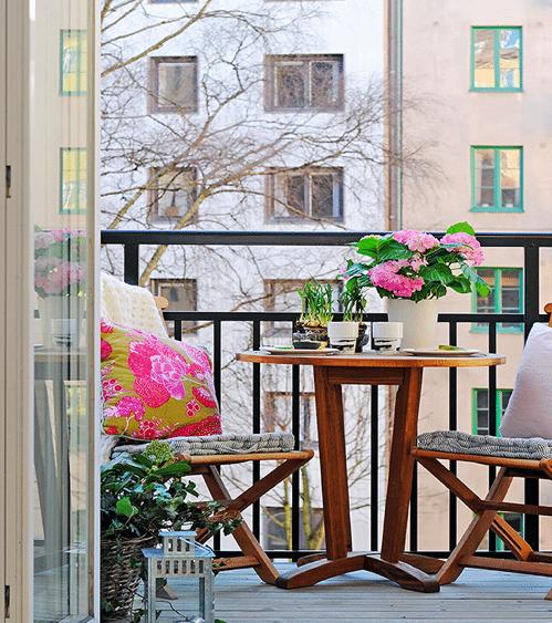 Decoraci n de terrazas peque as y acogedoras - Como decorar una terraza pequena ...