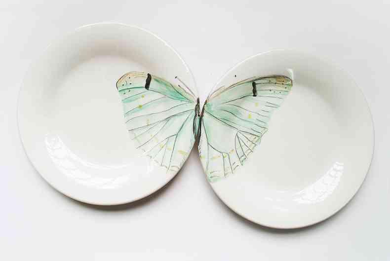vajillas de nuria blanco - Mariposaverde