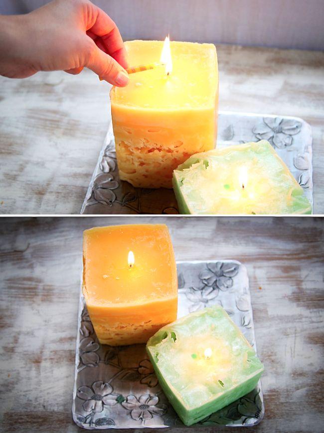 velas de hielo