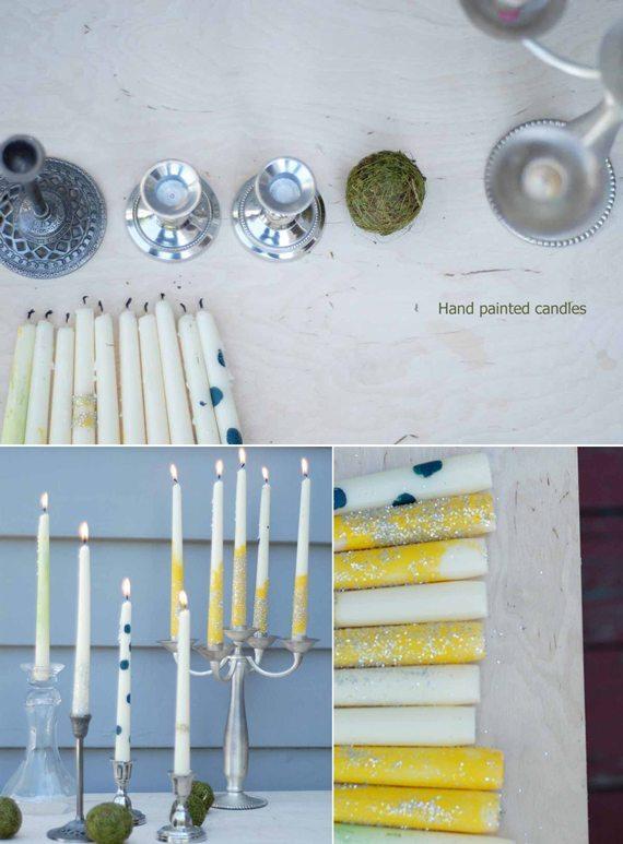 velas pintadas