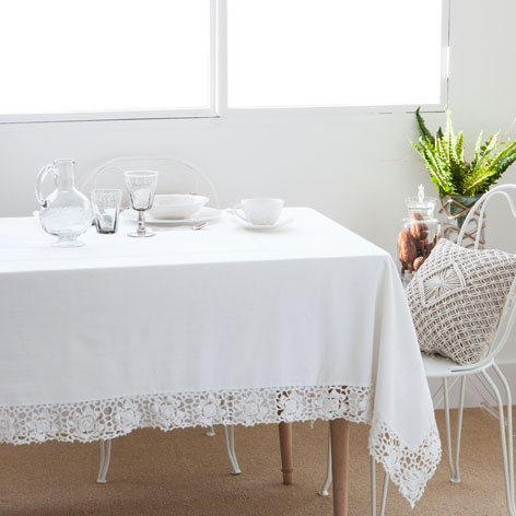 Consejos para darle color a tu mesa for Zara home manteles mesa