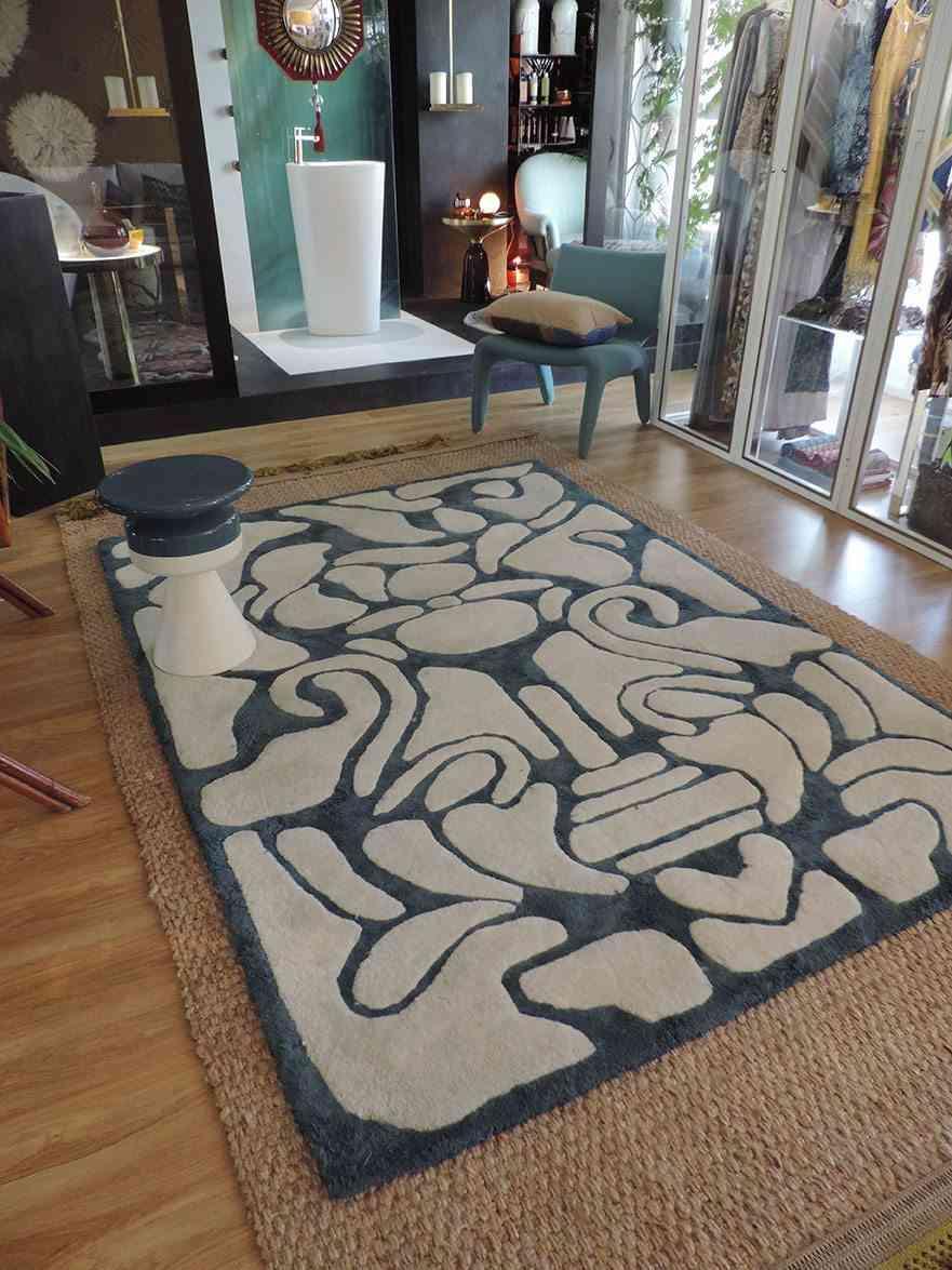 objetos de diseño alfombra hali catifa-monica