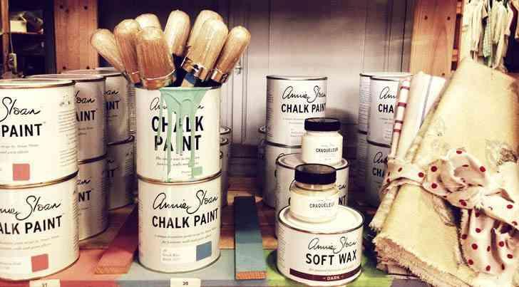 cartel vintage annie sloan chalk paint