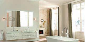Baño romántico con gran bañera