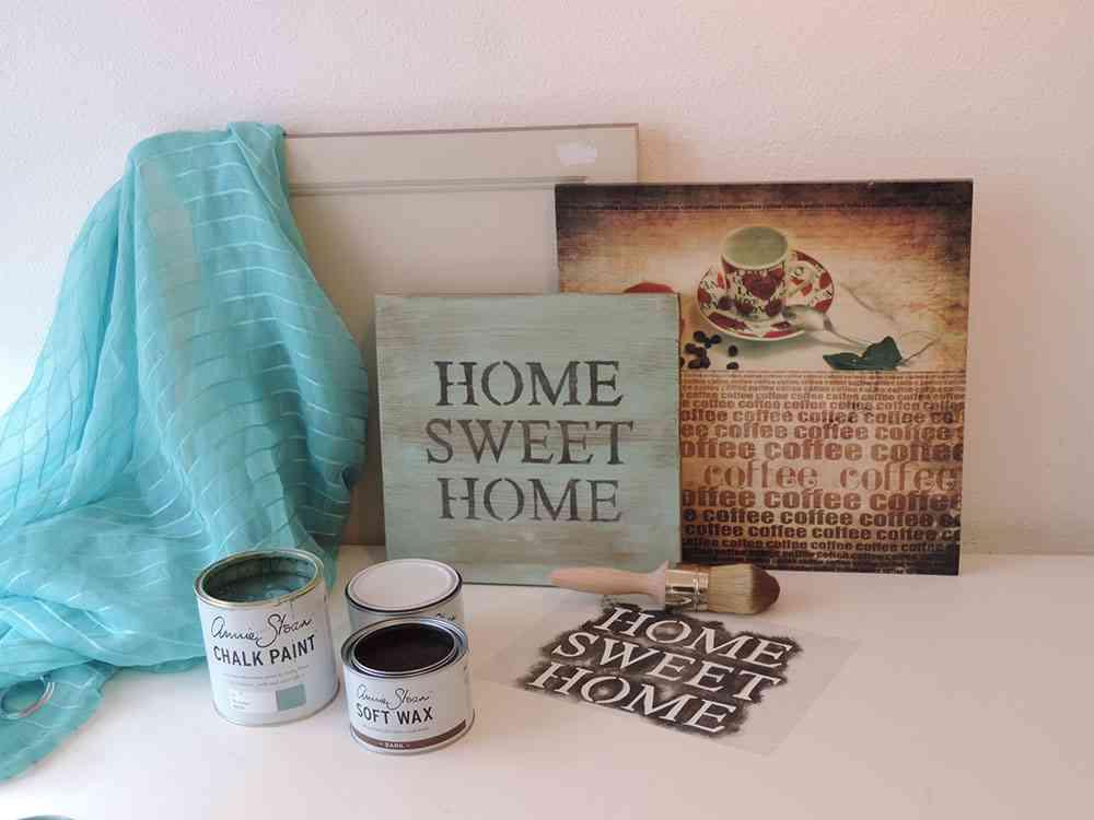 Aprende a pintar un cartel vintage paso a paso - Letras home decoracion ...