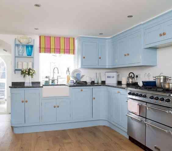 decoración de tu cocina en blanco