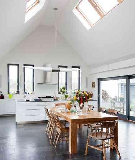 decoración de tu cocina con luz natural
