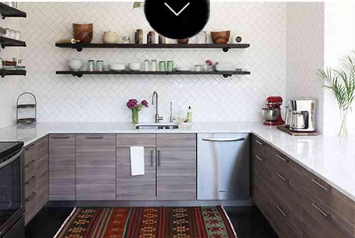 el antes y el despu s una cocina sin armarios superiores