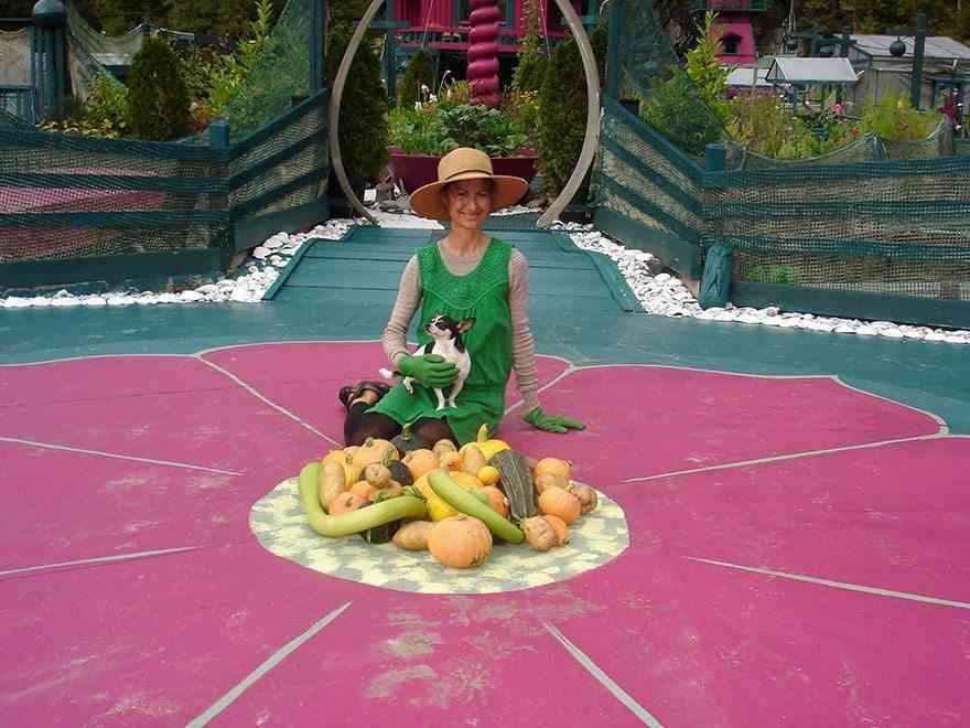 king con hortalizas