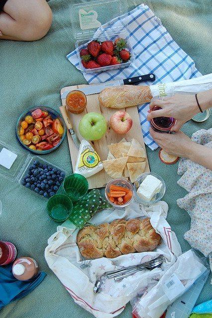 picnic en casa