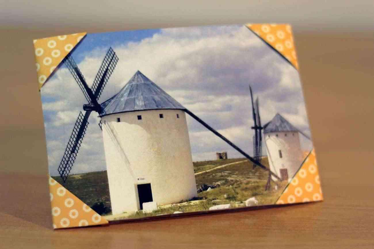 diy origami - como hacer un marco de fotos con papel