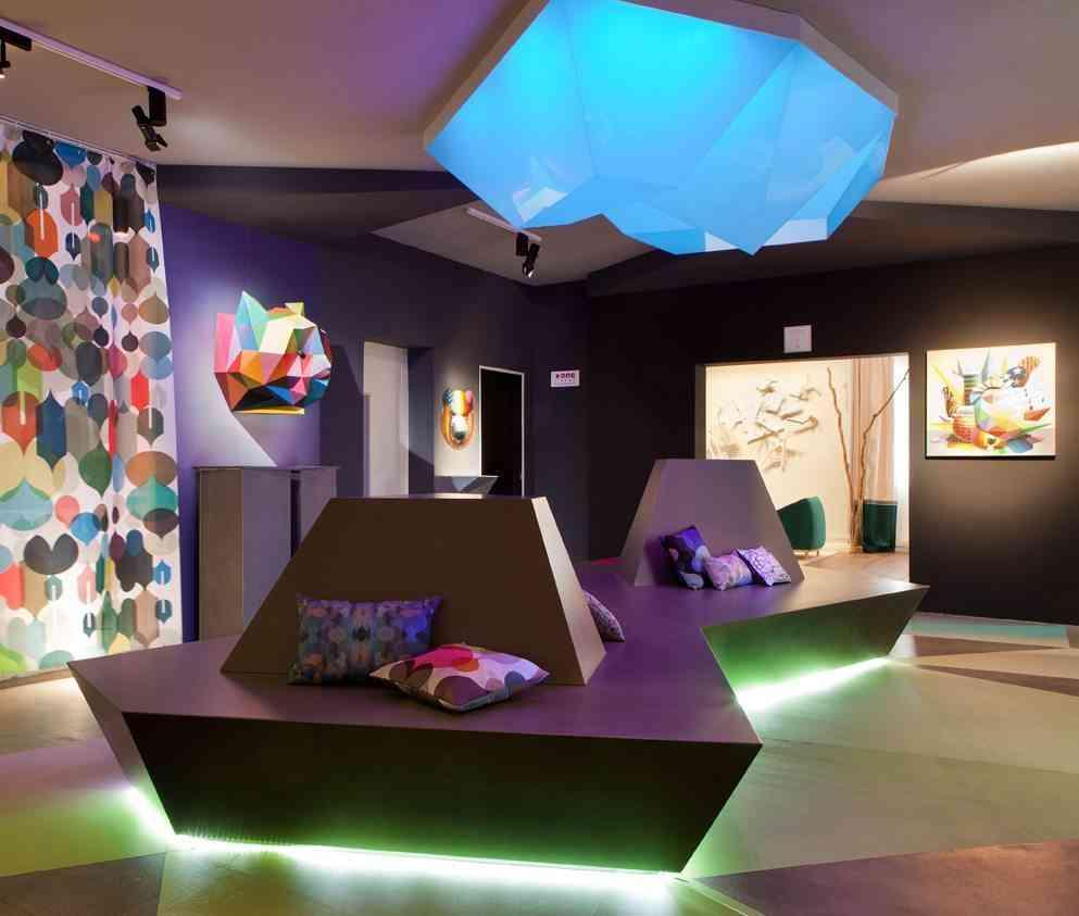 objetos de diseño espacio clorofila digital