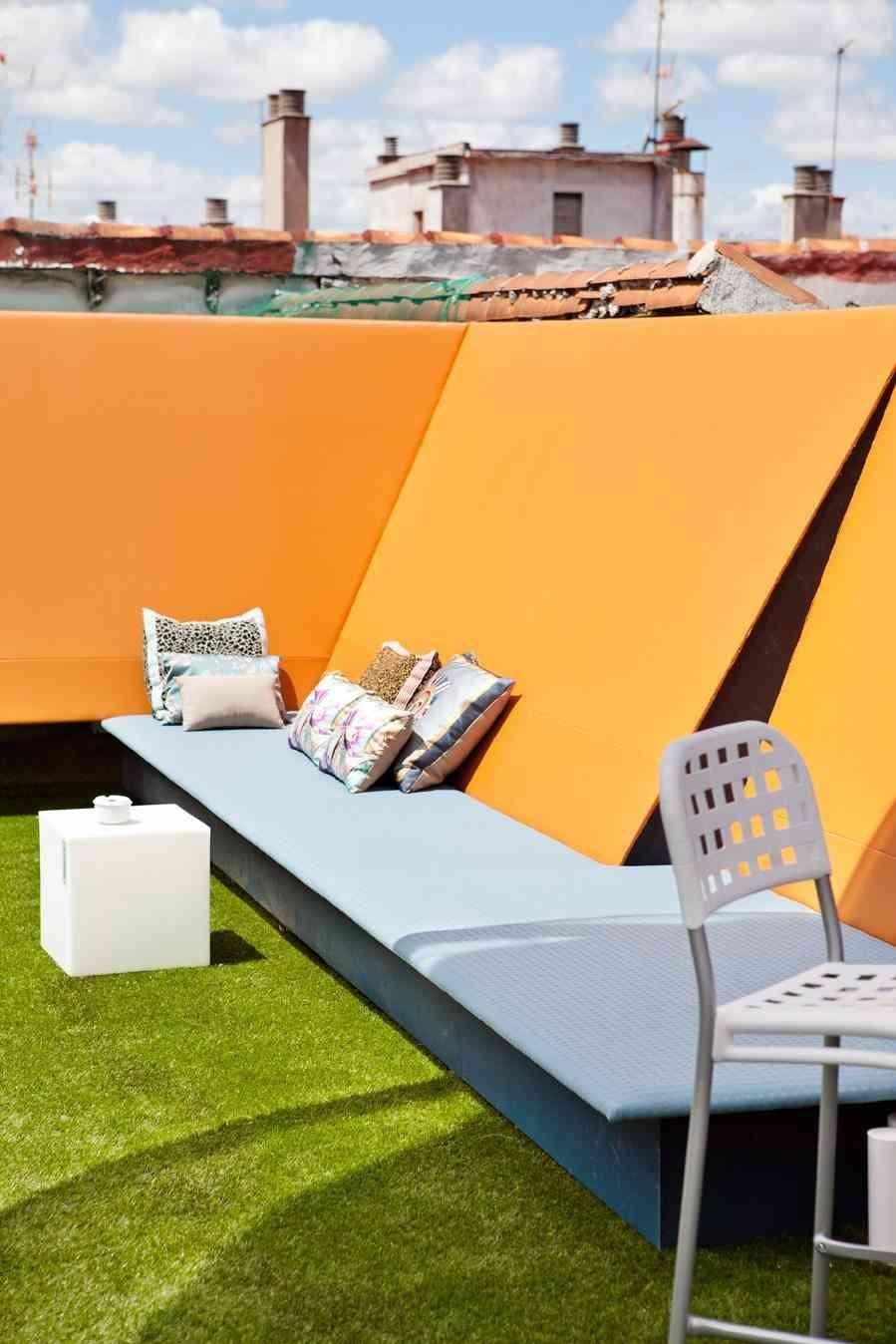 terrazas de verano - espacio heineken, zona de asientos