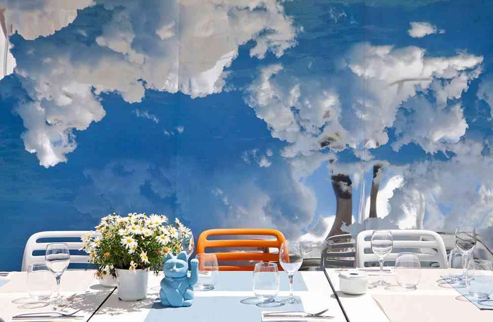 terrazas de verano - espejos restaurante the azotea
