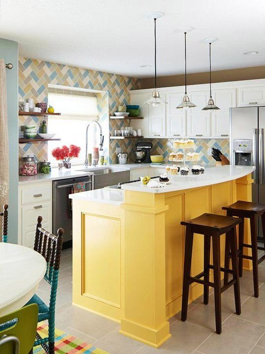 Diferentes modelos de isletas de cocina for Cocinas diferentes