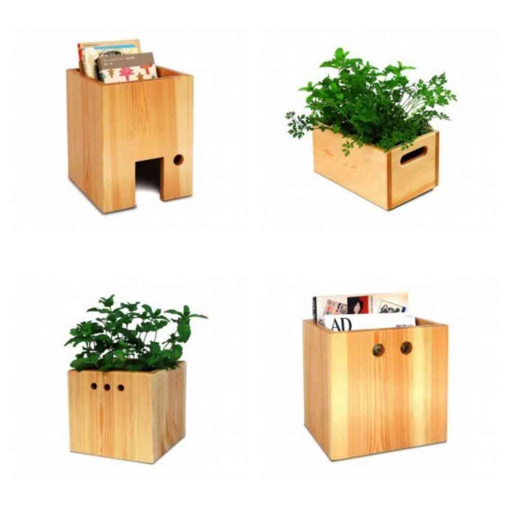 Maceteros de madera - fabricado en España - Savia