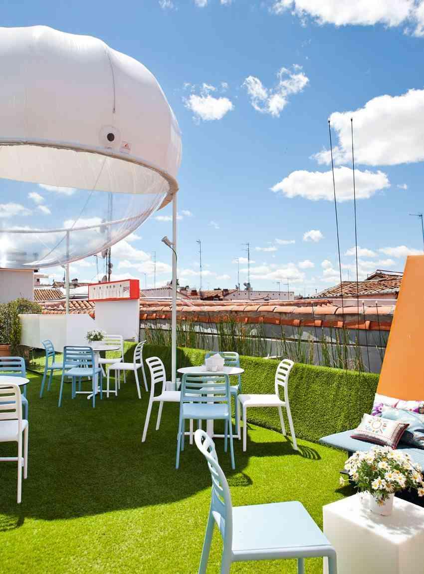 terrazas de verano - mesas y sillas espacio beefeater