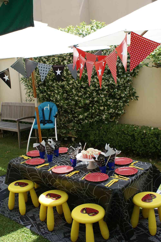 fiesta infantil mesa de cumpleaños