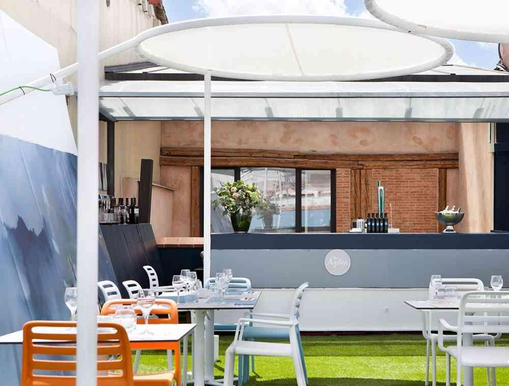 terrazas de verano - restaurante the azotea barra