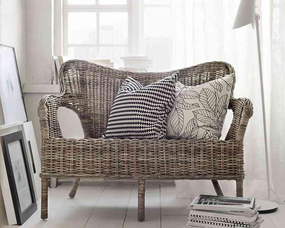 materiales naturales sofa NIPPRIG IKEA