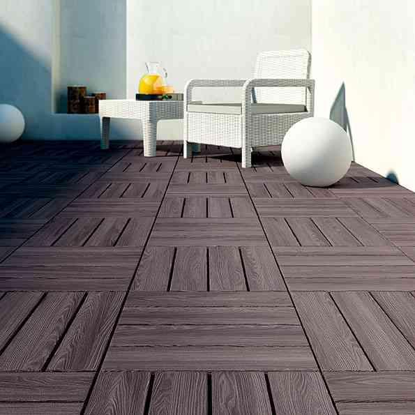 6 suelos de exterior para renovar la terraza for Suelos para terrazas exteriores leroy merlin
