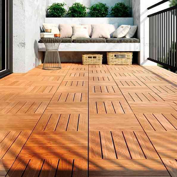 6 suelos de exterior para renovar la terraza - Pergolas baratas ikea ...