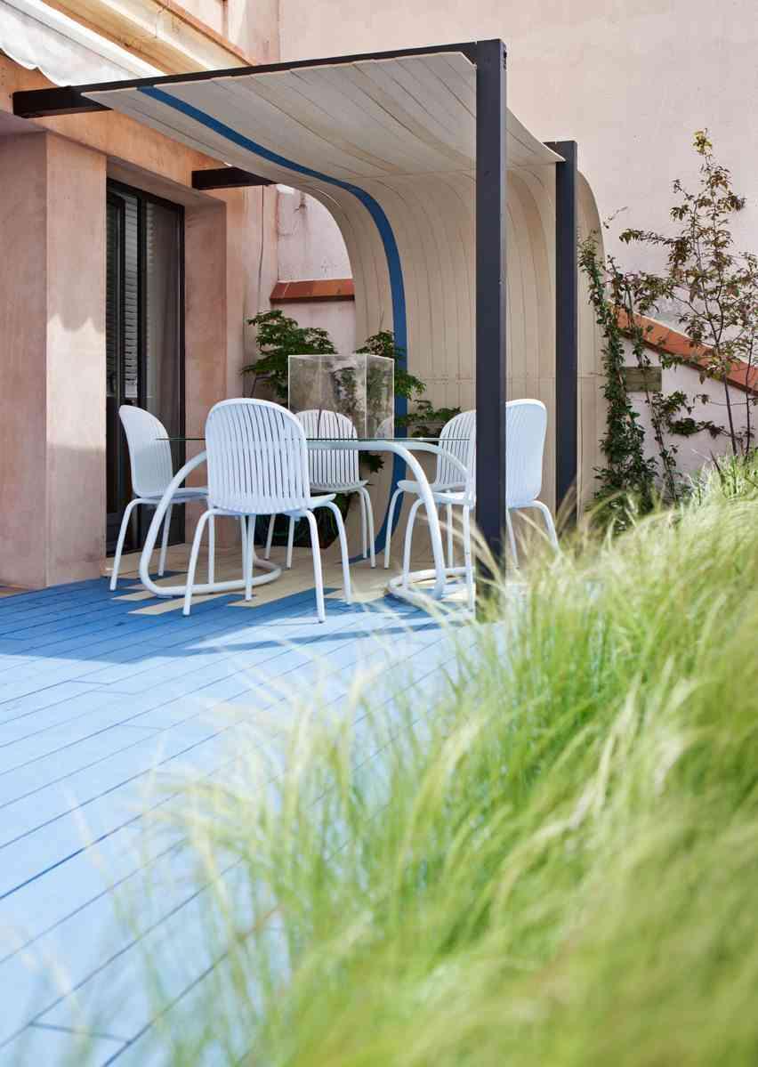 terrazas de verano - terraza miguel moreno-mesa y sillas