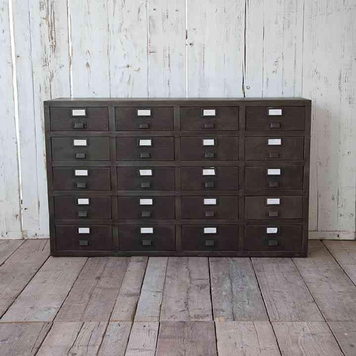decoracion de salones modernos archivador industrial
