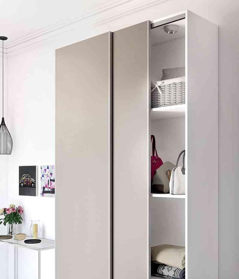 C mo lograr armarios ordenados y aprovechar el espacio for El mueble armarios