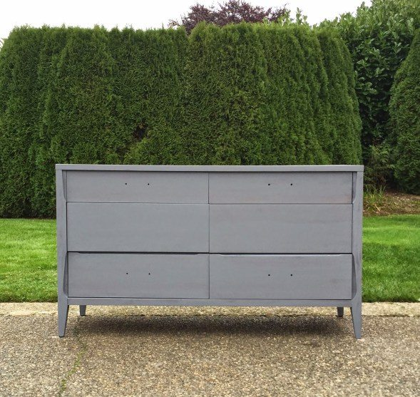 muebles con color comoda imprimacion gris
